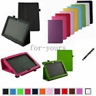 """Folio 2-Folding Slim Case Cover+Pen for 10.1"""" HP Slate 10 HD 4G Android Tablet"""