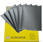 WET AND DRY PAPER 600 800 1000 1200 1500  GRIT 2 OF EACH Klingspor