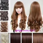 Magnificent Heat Resistant Synthetic Clip In Hair Extensions Thick Looking AAA10