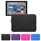 "Tablet Neoprene Sleeve Zip Cover Case Pouch Bag For 12"" Microsoft Surface Pro 3"