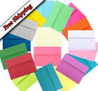25 Envelopes Multi Assorted or 1 color for Invitations & Announcements A2 A6 A7