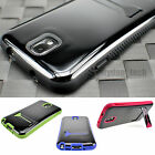 For Samsung Galaxy Note 3 III Hybrid PC TPU Kickstand Case Glossy Smooth Cover
