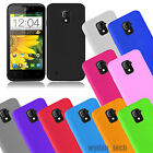 For ZTE Majesty Z796C Silicone Gel Skin Flexible Grip Case Soft Cover