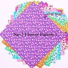 """6""""�6"""" Korean Origami Paper Double Sided Coloured Sheets Square Paper Pack Luxury"""