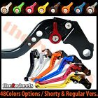 T2W CNC Adjustable Brake Clutch Levers Kawasaki NINJA 650R ER6f 2009-2014