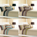 Curtina Harvard Stripe Print Duvet Cover Set