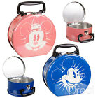 New Disney Mickey Mouse Or Minnie Mouse Tin Tote Lunchbox School Retro Official