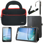Slim Folio Leather Folding Stand Cover Case Accessory For Hisense Sero 8 Tablet