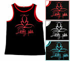 Lavish Habits Lucky Luciano Black Tank Top L-3XL Screen Printed Piranha Records