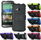 NEW GRENADE GRIP RUGGED TPU SKIN HARD CASE COVER STAND FOR HTC ONE MINI-2 PHONE