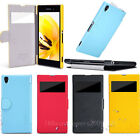 Nillkin Slim Fresh View Flip PU Leather Cover Hard Case For Sony Xperia Z1 L39H
