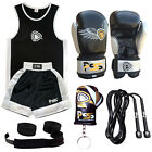 KIDS SET OF 2 PIECES TOP & SHORTS 5-12 YEARS + HIGH QUALITY BOXING GLOVES (1002)