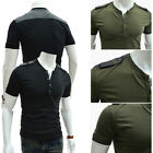 COOL Mens T-shirt Tee Tops Short Sleeve Summer Breathable Comfy Casual T-Shirts