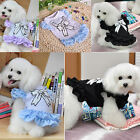 2014 Summer Casual Lovely Female Pet Dog Clothes Clothing Costume Dresses S~2XL