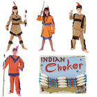 Childrens Native Indian Fancy Dress Costume Wild West Outfit Book Week
