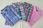 New Polo Ralph Lauren Pony Classic Button Shirt Short Sleeve S M L