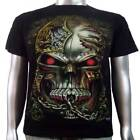 Tattoo Skull Body Art Piercings Jewelry Skate BMX Biker Tee Men T-shirt XL & XXL
