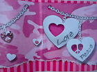 Hugs & Kisses Wallpaper Border Pink Purple Hearts XOXO NEW