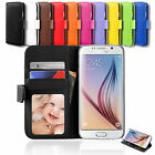 Galaxy S5 Case Card Flip Leather Stand Wallet Cover For Samsung