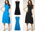FREE SHIPPING New Arrival Lady Deisgner Sleeveless Evening Prom Career Dress HOT