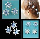 wg18 movie Frozen Elsa Custom Wig Cosplay Costume Snow Queen Anime with hairpins