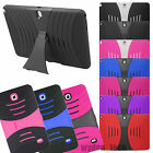 For Samsung Galaxy Tab Ripple Hybrid Stand Shockproof Dual Layer Case Covers