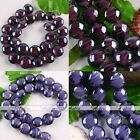 1 Strand Fashion Handmade Flat Coin Lampwork Glass Loose Bead Fit Jewelry Making
