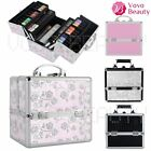 Large Storage Vanity Case Cosmetic Beauty Make Up Box Nail Jewelry Saloon Gift