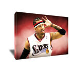 Philadelphia 76ers ALLEN IVERSON Poster Photo Painting on Canvas Wall Art Print on eBay