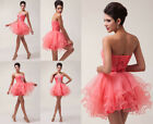 NEWLY DISCOUNT Bridesmaid Wedding Formal Prom Party Short Tutu Cocktail GK Dress