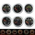 "2"" 52mm Car LED Boost/Water/Oil Temperature/Oil Pressure/Tachometer/Volt Gauge"