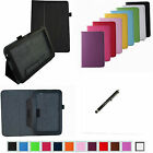 """Folio 2-Folding Slim PU Leather Case+Pen for 10.1"""" LG G pad  V700 Android Tablet"""