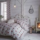 Catherine Lansfield Home Cotton Rich Doily Hearts Duvet Cover Bedding