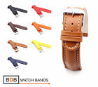 BOB Retro Calf Watch Band for Breitling, 18, 20, 22, 24 mm, 7 colors, new!