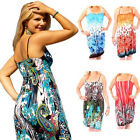 Set of 4: Floral Print Beach Cover-Up Dresses
