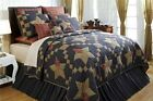 Victorian Heart Arlington Patchwork Star 3pc Quilt Set by...