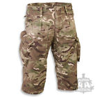 BRITISH ARMY STYLE PCS ACU RIPSTOP MTP MULTICAM 3/4 LENGTH SHORTS CAMO AIRSOFT