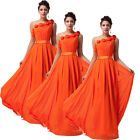 Free Ship Sexy Stylish Long Bridal  Gown Wedding Evening Prom Party Formal Dress