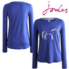 Joules Hedgeford HS Horse Print Long Sleeved Top **BNWT** **FREE UK SHIPPING**