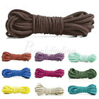 30 Color 5m/30m Faux Suede Jewelry Making Thread String Cord Thong 3x1.5mm