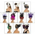 Venetian Mask Adult Womens Masquerade Ball Costume Accessory Fancy Dress
