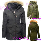 PARKA GIRLS New JACKET COAT HOODED Girls Padded CLOTHING AGE 7 8 9 10 11 12 13av