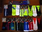 NEW Nike Elite Crew Socks hyper dri fit vapor double layer 2x basketball L 8-12