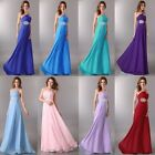 Homecoming NWT Chiffon Evening Wedding Cocktail Prom Dress Party Ball Maxi Gowns