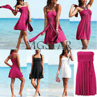 Sexy Lady Girls Strapless Bikini Cover Up Tops Beach Summer Dress Swimsuit Hot