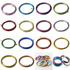 1Roll 12/15/18Gauge 1.0/1.5/2.0mm Aluminum Jewelry Wrap Craft Wire 14Color Hot