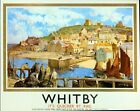 Vintage LNER Whitby Railway Poster  A3/A2/A1 Print