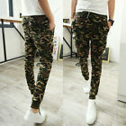 Men's Military Camouflage Casual Camo Pants Joggers Sport Sweat Pants Trousers