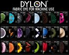 DYLON MACHINE BOX FABRIC CLOTHES WASH DYE 200 GRM.  WASHING MACHINE CLOTHES DYE