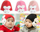 Newborn Baby Boy Girls Toddler Infant Soft Cute Rabbit Knitted Hat Beanie Cap